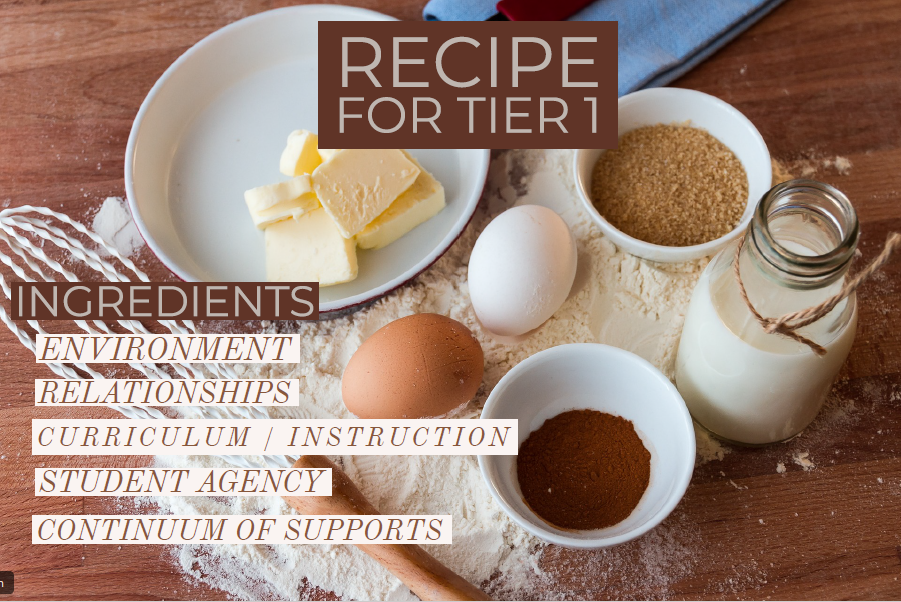 Recipe for Success: Social-Emotional Learning as an Important Ingredient within a Multi-Tiered System of Support