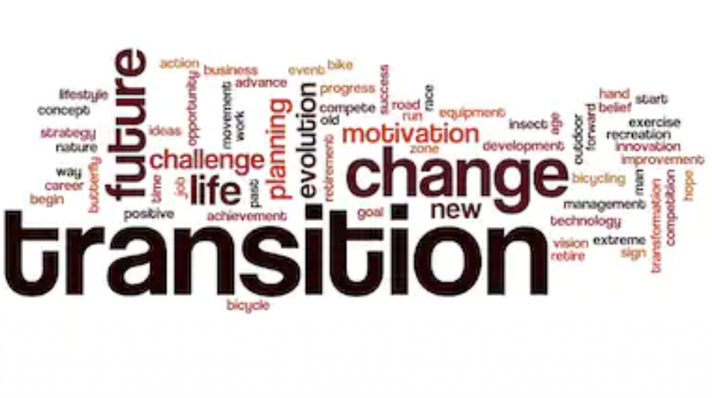Transitioning: Out, Over, In, and Forward